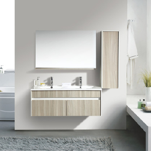 2020 New Wall Mounted Bathroom Cabinet Double Sinks