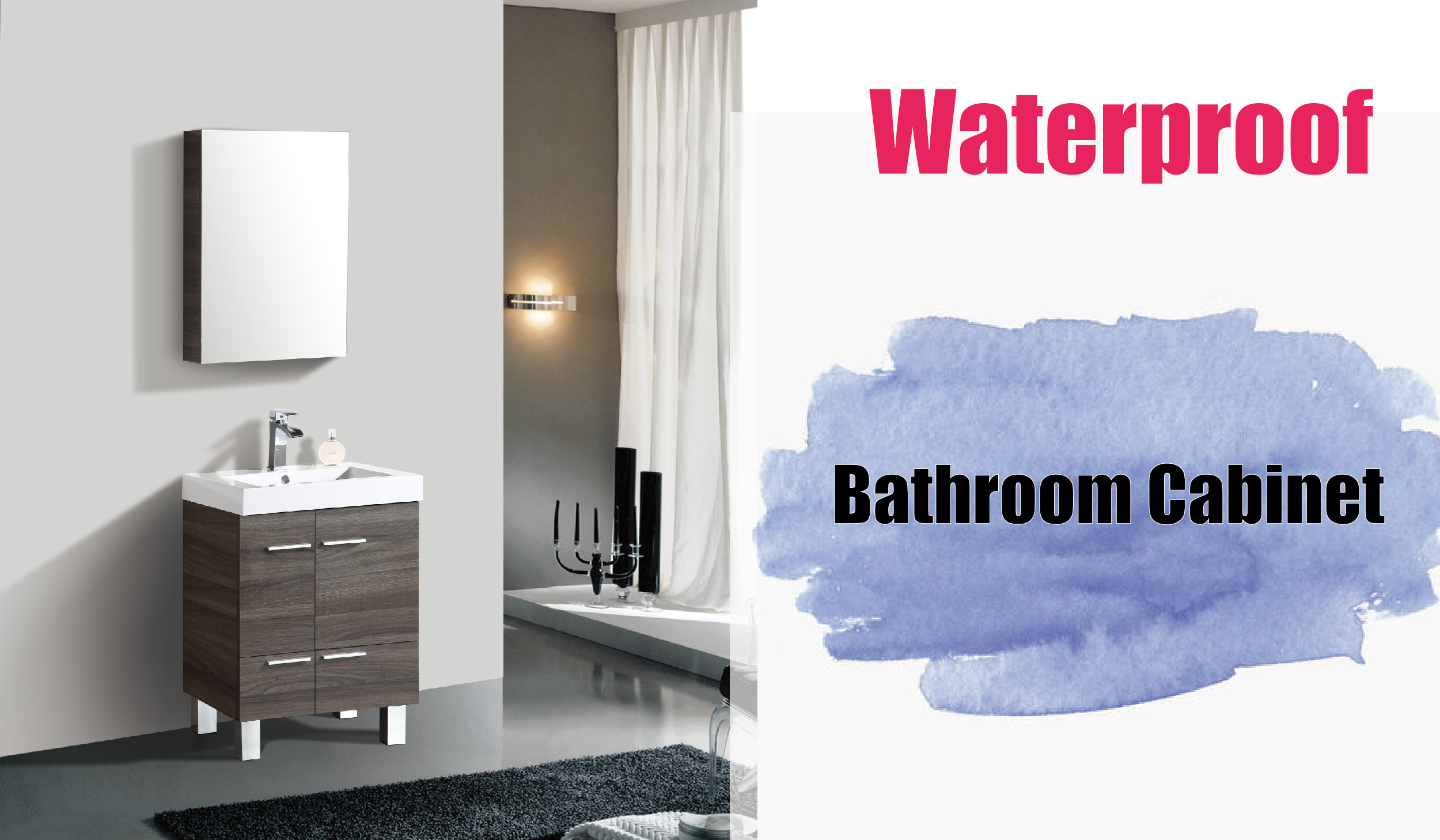 How To Choice Waterproof Vanity
