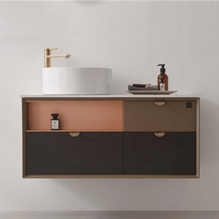 Wall Mounted Bathroom Vanities Remodel Ideas Cabinet Set Innovation
