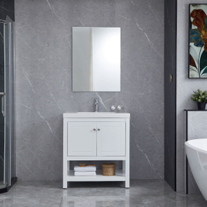 White Bathroom Cabinets Vanity