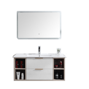Wall Mounted Bathroom Vanities Ideas With Drawers Side Cabinet