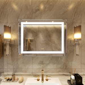 LED Mirror With Lights Rectangle Mirror Bathroom Wall Manufacture